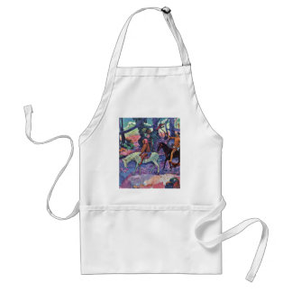 The Ford By Gauguin Paul (Best Quality) Aprons