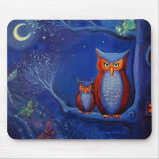 The Forest at Night - Mouse Mat