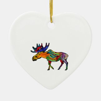 THE FOREST DWELLER CERAMIC HEART DECORATION