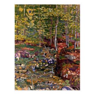 The Forest Near Reichenbach Postcard