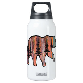 THE FOREST REVEALED INSULATED WATER BOTTLE
