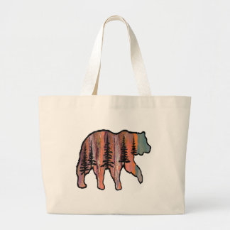 THE FOREST REVEALED LARGE TOTE BAG