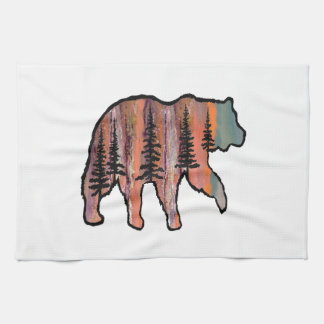 THE FOREST REVEALED TEA TOWEL