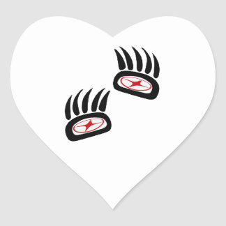 THE FOREST SIGNS HEART STICKER