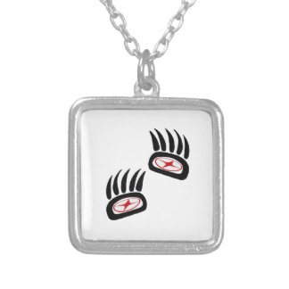 THE FOREST SIGNS SILVER PLATED NECKLACE