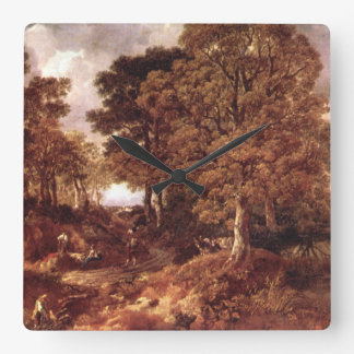The Forest', Thomas Gainsborough_Landscapes Wallclocks