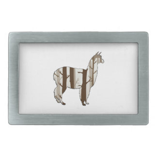 THE FOREST WITHIN RECTANGULAR BELT BUCKLE