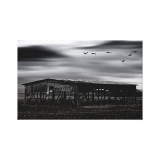The forgotten country canvas print
