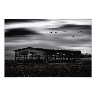 The forgotten country photo print