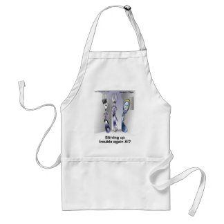 The Fork Police Funny Cartoon Gifts & Collectibles Standard Apron