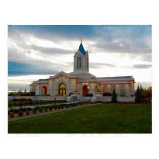 The Fort Collins Colorado LDS Temple Postcard