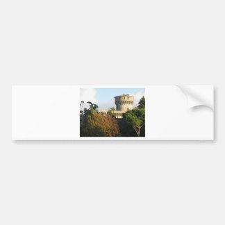 The Fortezza Medicea of Volterra, Tuscany, Italy Bumper Sticker