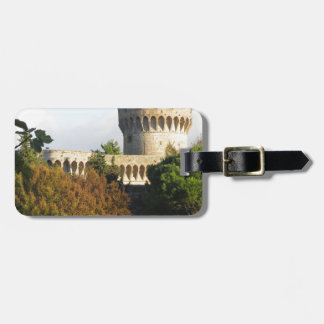 The Fortezza Medicea of Volterra, Tuscany, Italy Luggage Tag