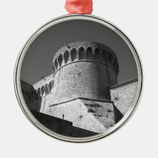 The Fortezza Medicea of Volterra . Tuscany, Italy Metal Ornament