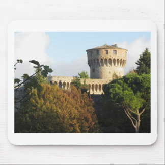 The Fortezza Medicea of Volterra, Tuscany, Italy Mouse Pad