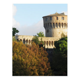 The Fortezza Medicea of Volterra, Tuscany, Italy Postcard