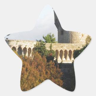 The Fortezza Medicea of Volterra, Tuscany, Italy Star Sticker