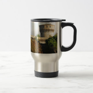 The Fortezza Medicea of Volterra, Tuscany, Italy Travel Mug