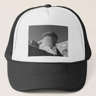 The Fortezza Medicea of Volterra . Tuscany, Italy Trucker Hat