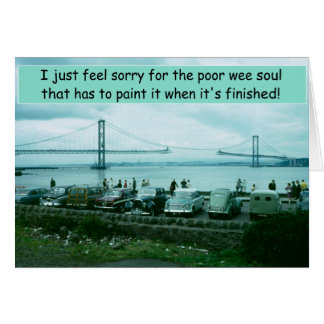 The Forth Bridge Greeting Card