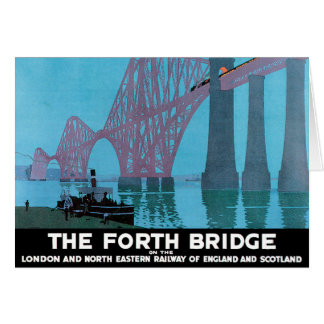 The Forth Bridge Greeting Card