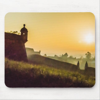 The Fortress Mouse Pad