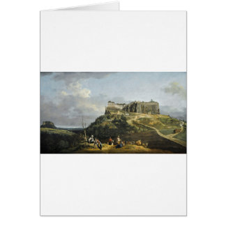 The Fortress of Konigstein by Bernardo Bellotto Greeting Card