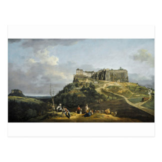 The Fortress of Konigstein by Bernardo Bellotto Postcard