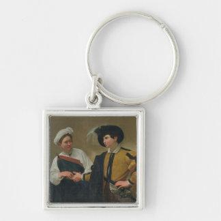 The Fortune Teller (La Buona Ventura), c.1594 Key Ring