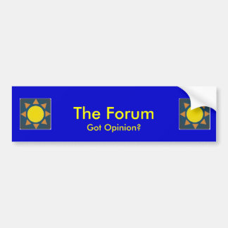 The Forum Bumper Sticker