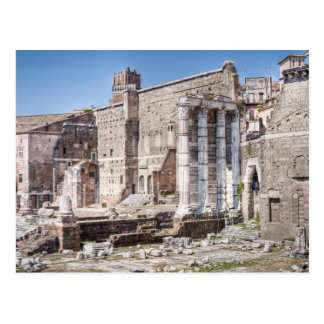The Forum of Augustus is one of the Imperial 3 Postcard