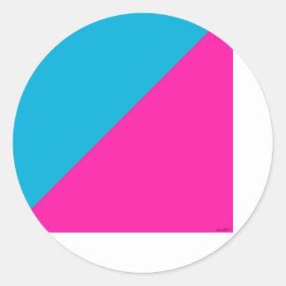 - the  foundation - round sticker