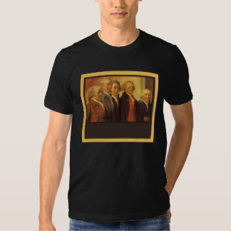 The Founding Fathers customizable Tshirt