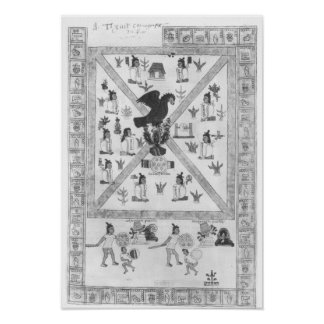 The Founding of Tenochtitlan Poster