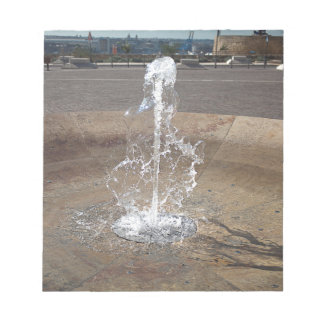 The fountain notepad
