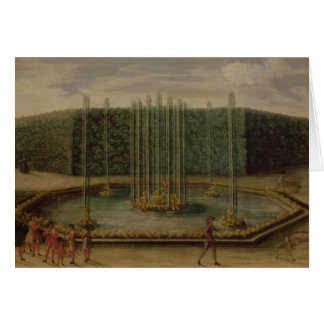 The Fountain of Bacchus at Versailles Card