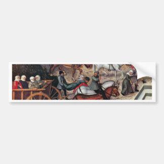 The Fountain Of  By Cranach D. Ä. Lucas (Best Qual Bumper Sticker