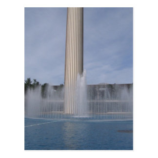 the fountain postcard