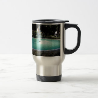 The fountain travel mug