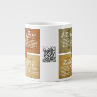 The Four Agreements Large Coffee Mug