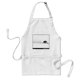 The Four Children--the co-operative Cauliflower Standard Apron