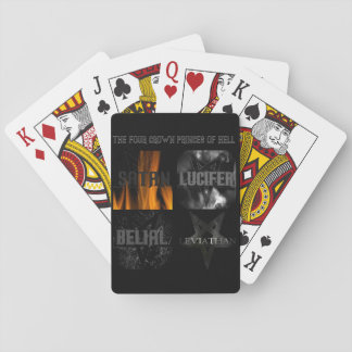 The Four Crown Princes of Hell Playing Cards
