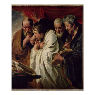 The Four Evangelists Poster