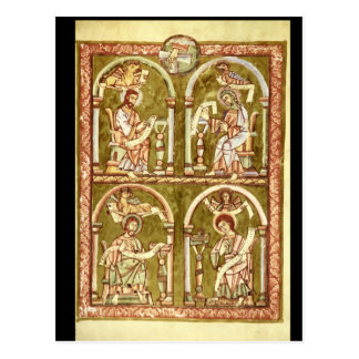 The Four Evangelists', Vyserad_Art of Antiquity Postcard