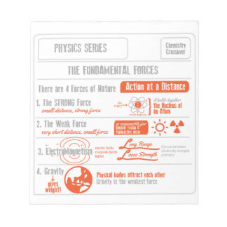 The Four Fundamental Forces- Physics Series Notepad
