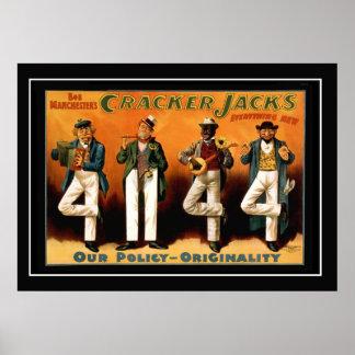 The Four Jacks Vintage Poster