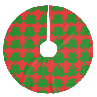 The Four-Leaf Clover For Luck Tree Skirt