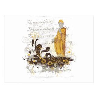 The Four Noble Truths Postcard