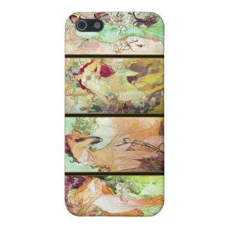The four seasons Alphonse Mucha iPhone 5 Case