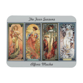 The Four Seasons Rectangular Photo Magnet